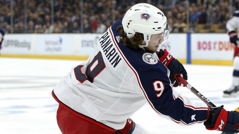 Artemi Panarin's second goal of the night was a beaut.
