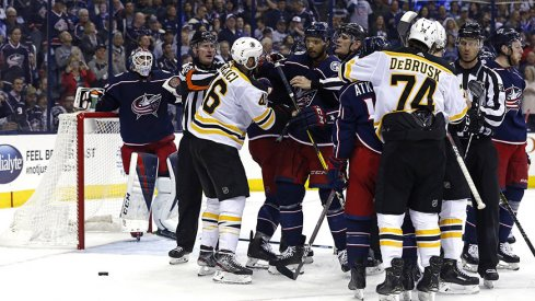 Game 4 tonight at Nationwide Arena.