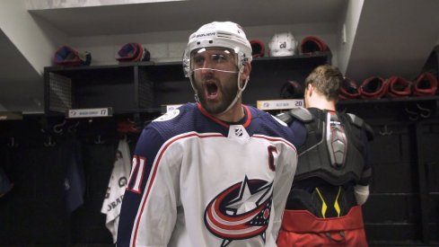 The latest episode of Behind the Battle takes Blue Jackets fans on the road and inside the dressing room during the Stanley Cup Playoffs.