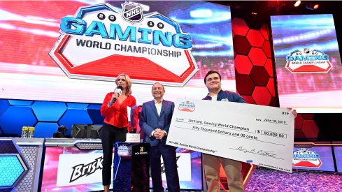 Matt Gutkoski, aka Top-Shelf-Cookie, took home $50,000 with his NHL World Gaming Championship victory in Las Vegas on Wednesday.