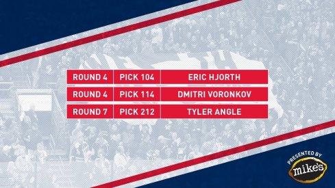 Blue Jackets 2019 NHL Draft Class