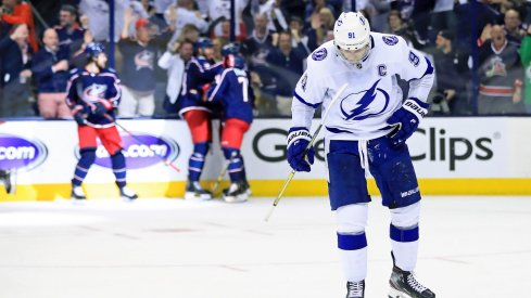 The Columbus Blue Jackets' first playoff series win came in dramatic form, with a sweep over the Tampa Bay Lightning.