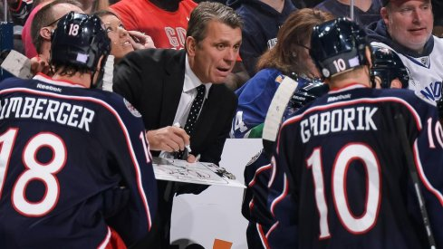 Craig Hartsburg was a Columbus Blue Jackets associate coach from 2012-2016.