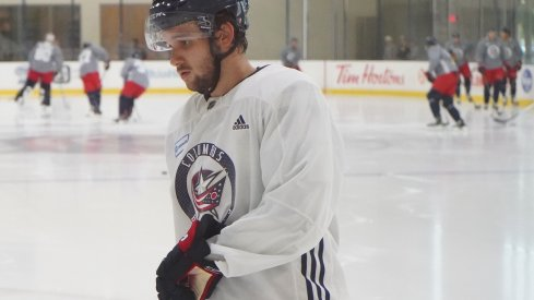 Bemstrom at training camp
