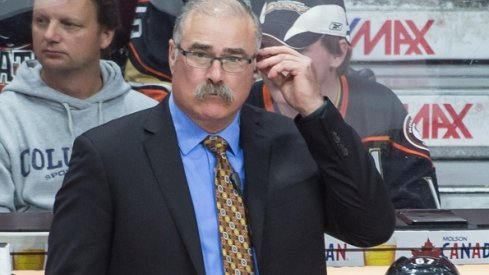 Anaheim Ducks assistant coach Paul MacLean returns to Ottawa to play against the Senators at the Canadian Tire Centre. The Ducks defeated the Senators 4-3 in overtime.