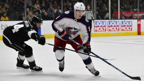 Zach Werenski has five goals in his last three games for the Columbus Blue Jackets