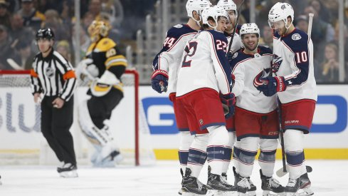 The Columbus Blue Jackets' local TV ratings are up 41% from last season and are on pace for its highest viewership in franchise history.