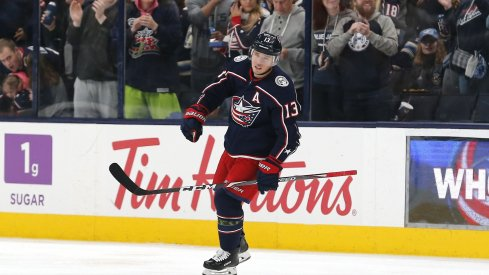 Cam Atkinson scored three goals in his first two games returning from injury with the Columbus Blue Jackets.