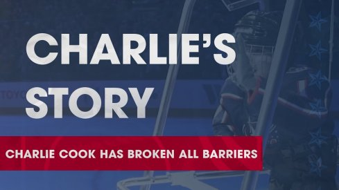 Charlie Cook dropped the puck Friday night against the Red Wings, this is his story as told to us by the Blue Jackets.