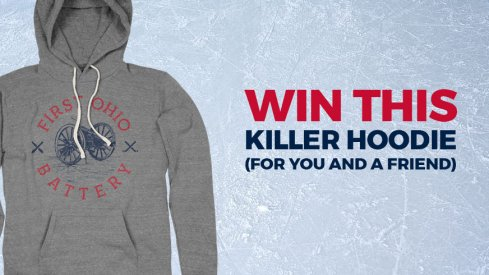 Here's your chance to win a pair of 1st Ohio Battery hoodies.