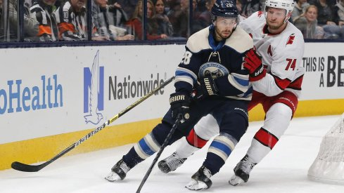 Oliver Bjorkstrand has 18 goals through 44 games this season - on pass to easily pass his personal Columbus Blue Jacket season-high of 23 from a year ago.