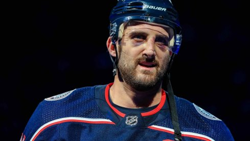 Nick Foligno has 30 points on the season as he prepares to lead his Columbus Blue Jackets to the final stretch of the season.
