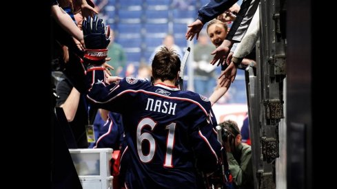Rick Nash spent nine of his 15 NHL seasons with the Columbus Blue Jackets after being the first overall draft pick from the team in 2002.