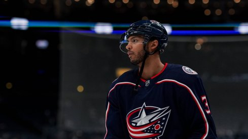 Seth Jones fractured his ankle on Feb. 8 against the Colorado Avalanche, and according to his mother, is back on the ice skating.