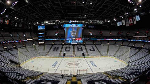 The Blue Jackets, city of Columbus and Nationwide Arena are reportedly being discussed as a potential host city should the NHL restart in select markets.