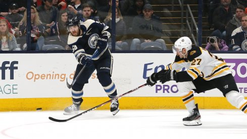 John Moore (Bruins, #27) was the 21st pick by the Jackets in 2009, but it's David Savard who was the gem of the 09 draft for Columbus.