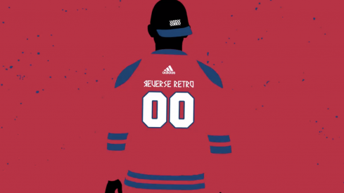 An early look at the Blue Jackets' Reverse Retro jerseys from adidas.