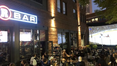 The Arena District's R Bar, a local hockey bar for nearly two decades, is struggling amid the COVID-19 pandemic in Columbus and across the United States.