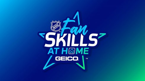 NHL Fan Skills at Home Presented by Geico Logo