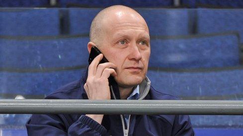 Jarmo Kekalainen speaks on the phone.