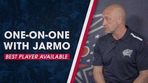 Jarmo Kekalainen discusses the Blue Jackets' draft strategy.