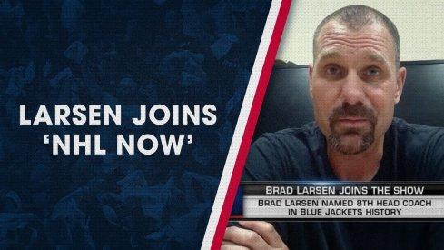 Brad Larsen speaks to NHL Now.