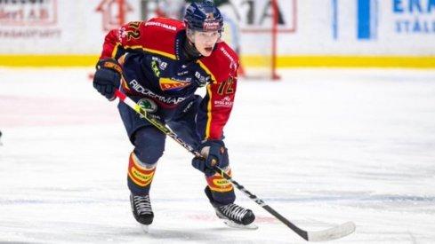 Top prospect William Eklund skates up ice