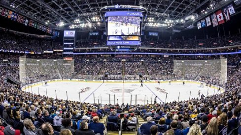 Nationwide Arena, during pre-Covid-19 times