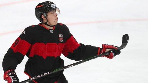 Yegor Chinakhov mid-shot