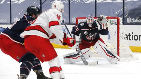 Joonas Korpisalo should be traded before the start of the season, if the Columbus Blue Jackets truly see this as a rebuilding year.