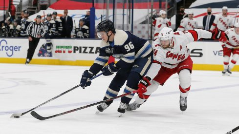 Jack Roslovic will have a chance to shine in a major way for the Columbus Blue Jackets.