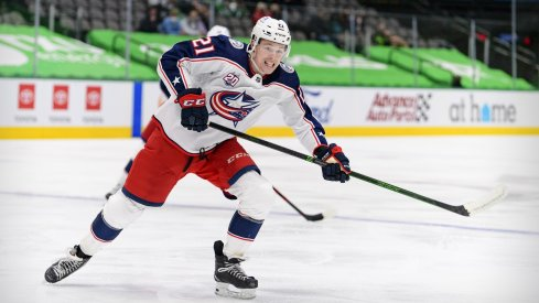 Josh Dunne made his NHL debut during the 2020-21 season; will he impress in Traverse City?