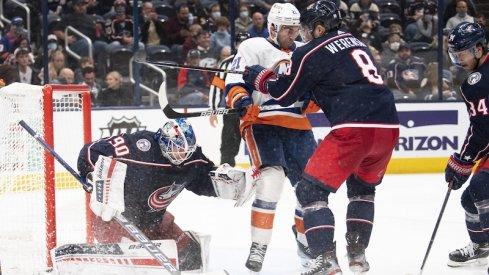 Columbus Blue Jackets vs New York Islanders.