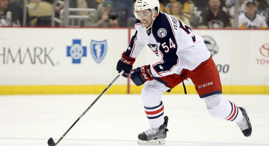 Scott Harrington Is (Finally) Back In The Blue Jackets' Lineup ...