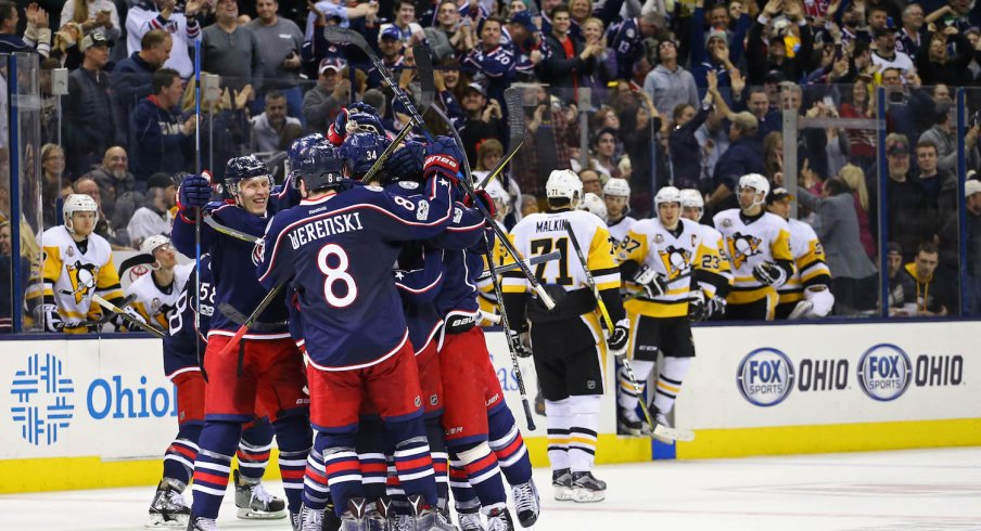 It's Official: The Blue Jackets and Penguins Will Meet Next Week ...