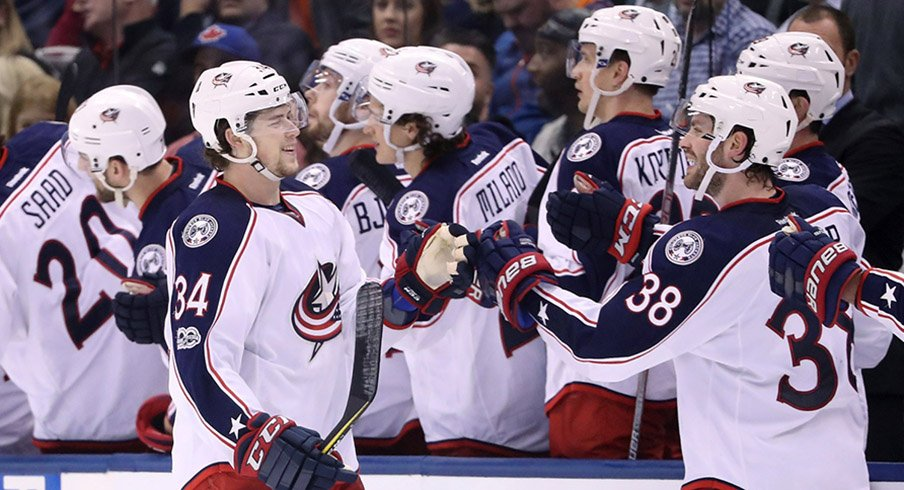 Columbus Blue Jackets Win 50 Games for First Time in Franchise ...