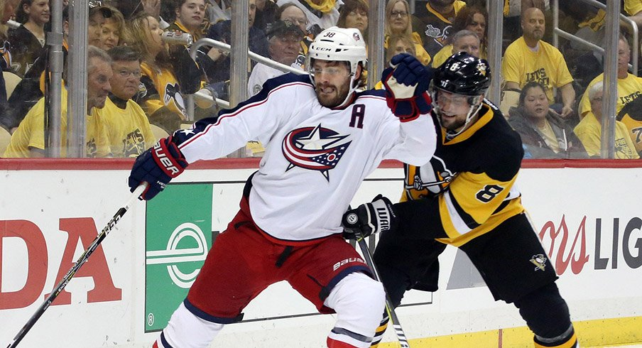 Columbus Blue Jackets center Boone Jenner