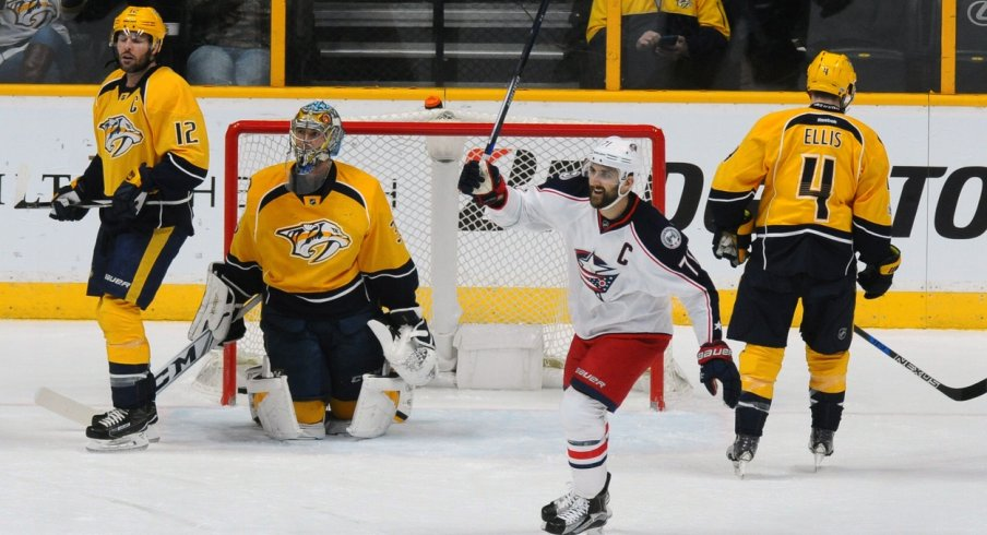 Nick Foligno returned to form for the Blue Jackets.