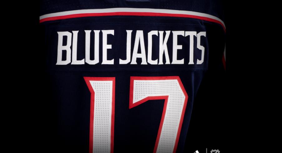 columbus blue jackets jersey adidas