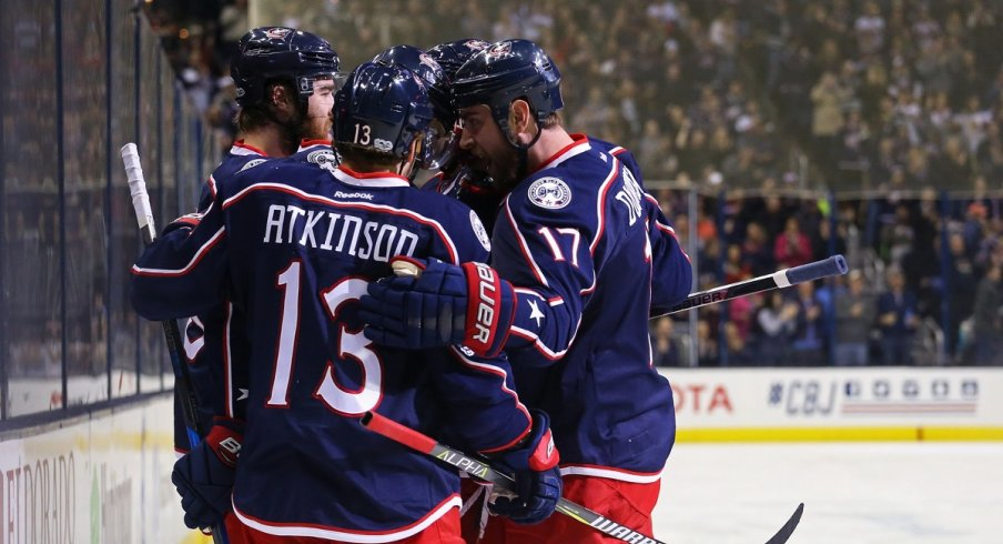 Some lines score more than others for the Blue Jackets