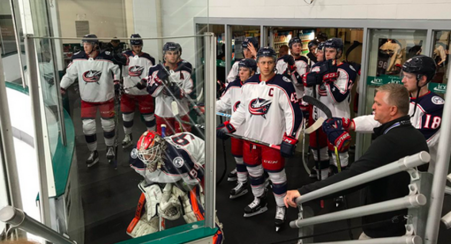 Blue Jackets prospects in Traverse City