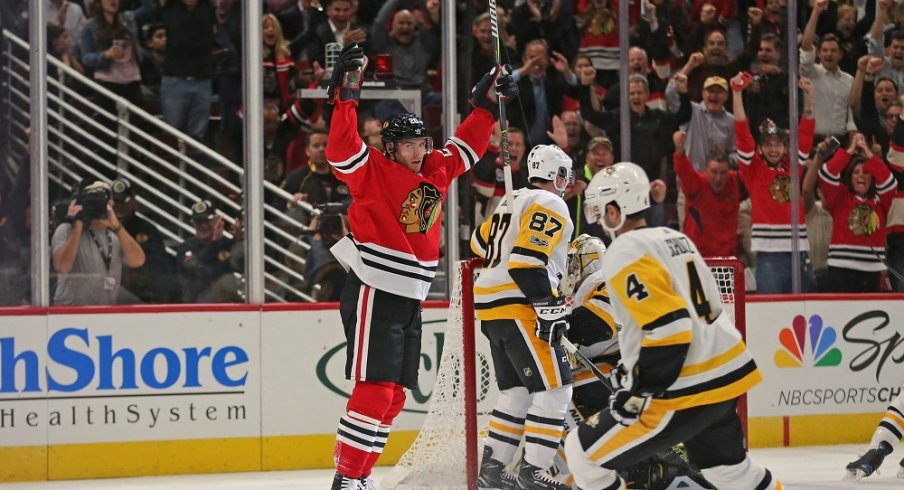 Brandon Saad is off to a hot start