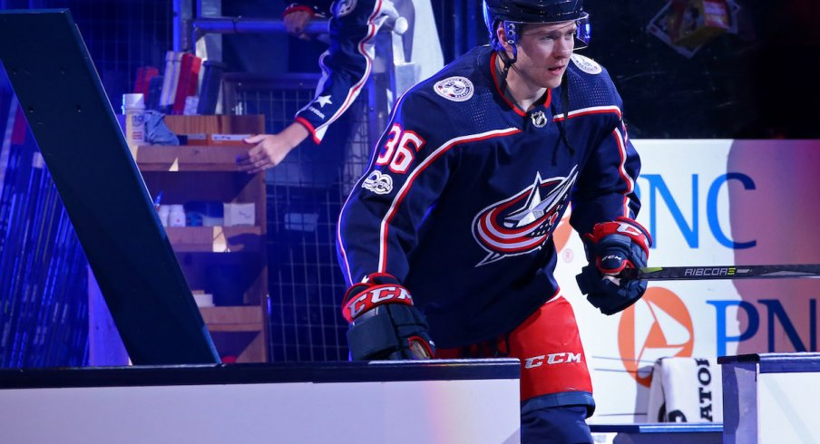 Blue Jackets forward Zac Dalpe