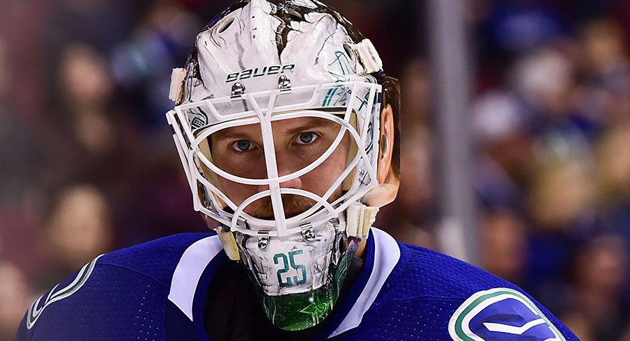 Jacob Markstrom almost broke the NHL record for goalie games played without a shutout.