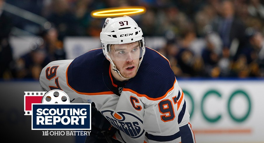 ecd7f3734 Connor McDavid leads the Edmonton Oilers into Nationwide Arena tonight to  face the Columbus Blue Jackets