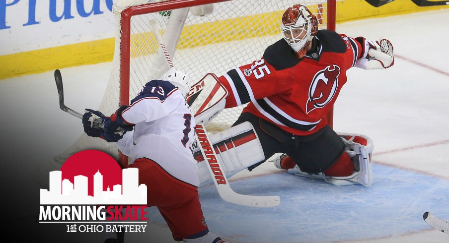 Morning Skate: Blue Jackets Face Tough Road Test At The