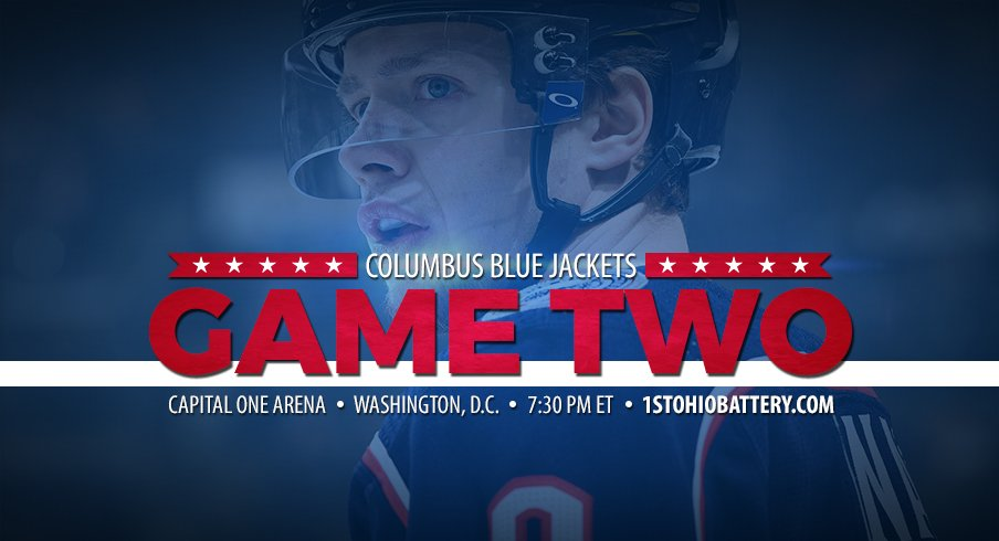 The Columbus Blue Jackets and Washington Capitals meet in Game 2 of the Eastern Conference quarterfinals.