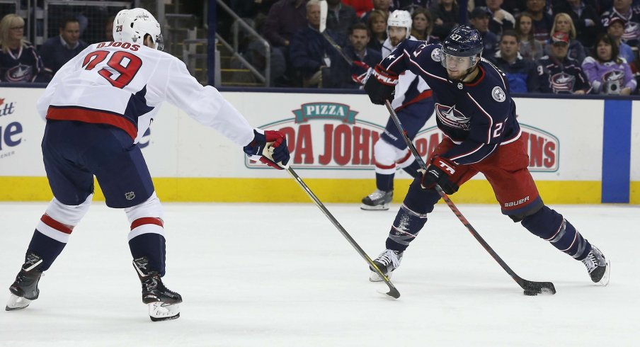 9a0ce1d9220 Columbus Blue Jackets Lose Double OT Thriller in Game 3