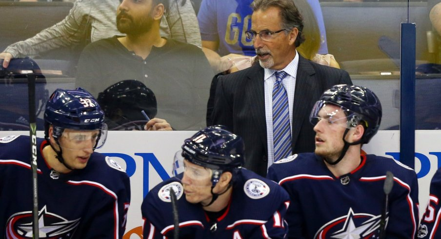 Columbus Blue Jackets head coach John Tortorella