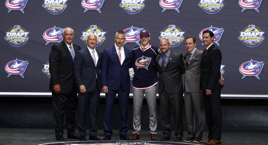 The most recent Columbus Blue Jackets first round pick was Pierre-Luc Dubois in 2016.